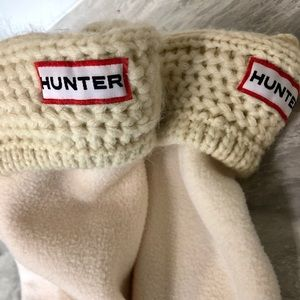 Hunter Cable Knit Boot Socks